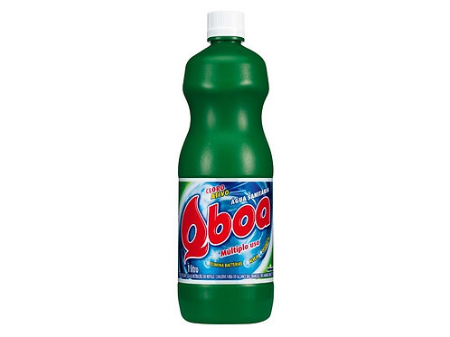 Água Sanitária Qboa 1 Litro