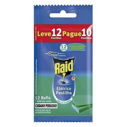 Inset Raid 12 Horas Pastilha L12p10 Refil