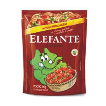 Extrato De Tomate Elefante Sachê 190g