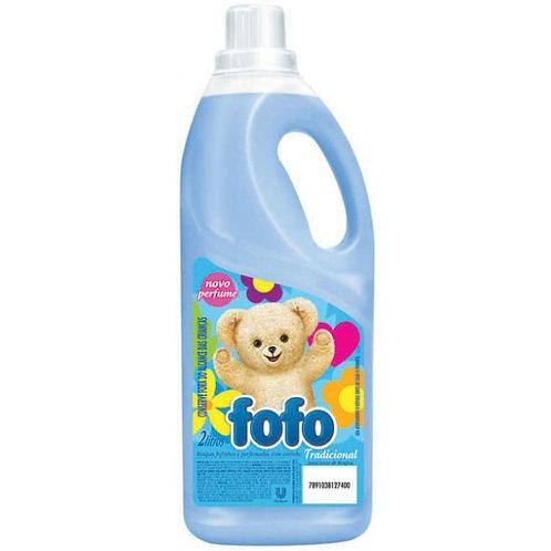 Amaciante FOFO Azul Tradicional 1,800 Litros