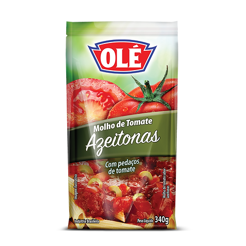 Molho de Tomate Azeitonas 340g
