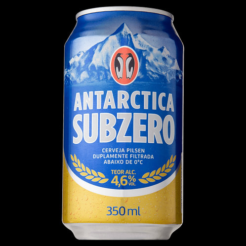Cerveja Antartica Subzero 350Ml