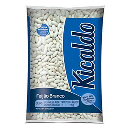 Feijão Branco kicaldo  Pacote 500g