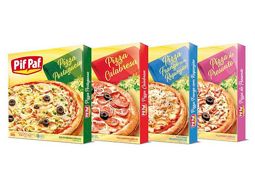 Pizza Pif Paf 460g