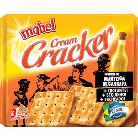 Biscoito Salgado Mabel Cream Cracker Manteiga de Garrafa Pacote 400G