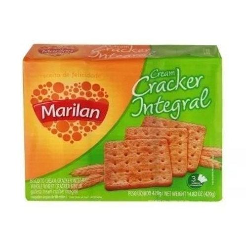 Biscoito MARILAN Cream Cracker Integral 400g