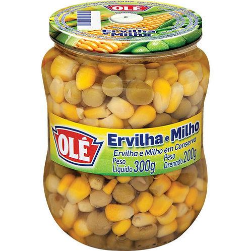Ervilha e Milho Verde Olé em Conserva 200g