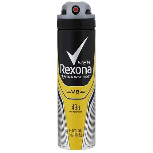 Desodorante Antitranspirante Aerosol Rexona Men V8 - 150ml