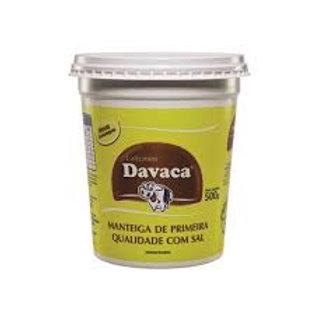 Manteiga Davaca com Sal Pote 500G