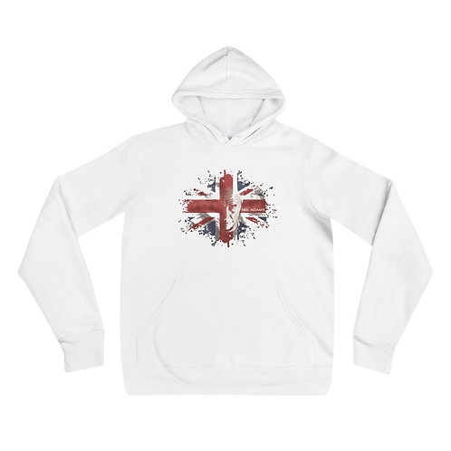 Unisex hoodie UNION JACK (slim fit)