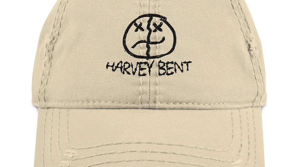 Distressed HB Dad Hat