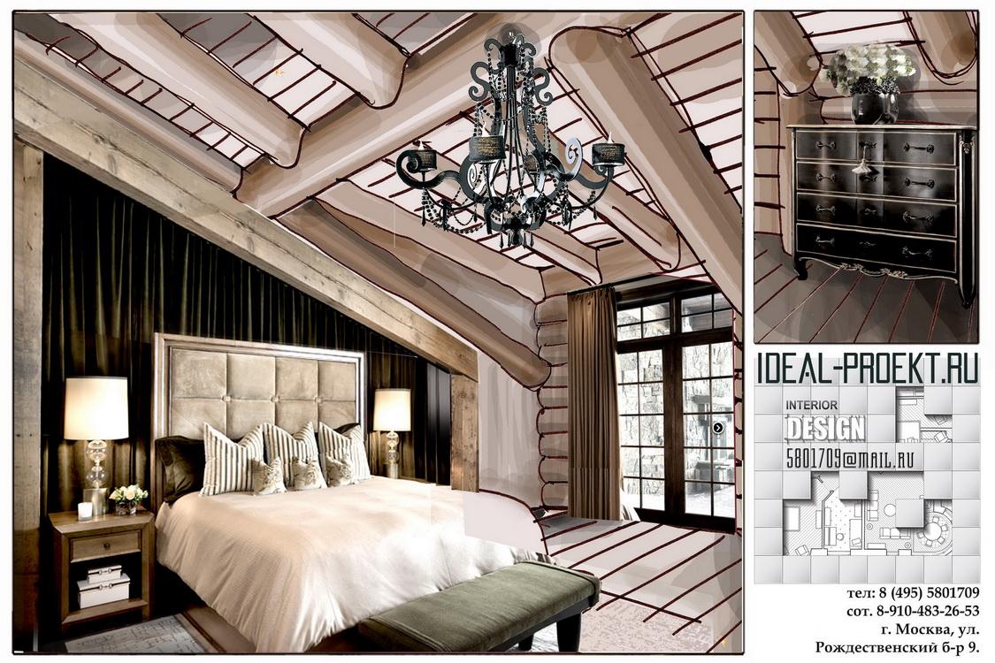 Дизайн деревянного дома