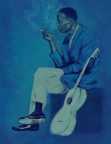 The Blues Player