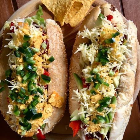 Vegaxicana HotDog recept