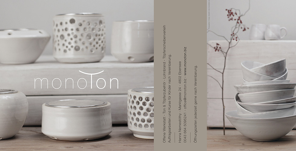Monoton . Keramikatelier