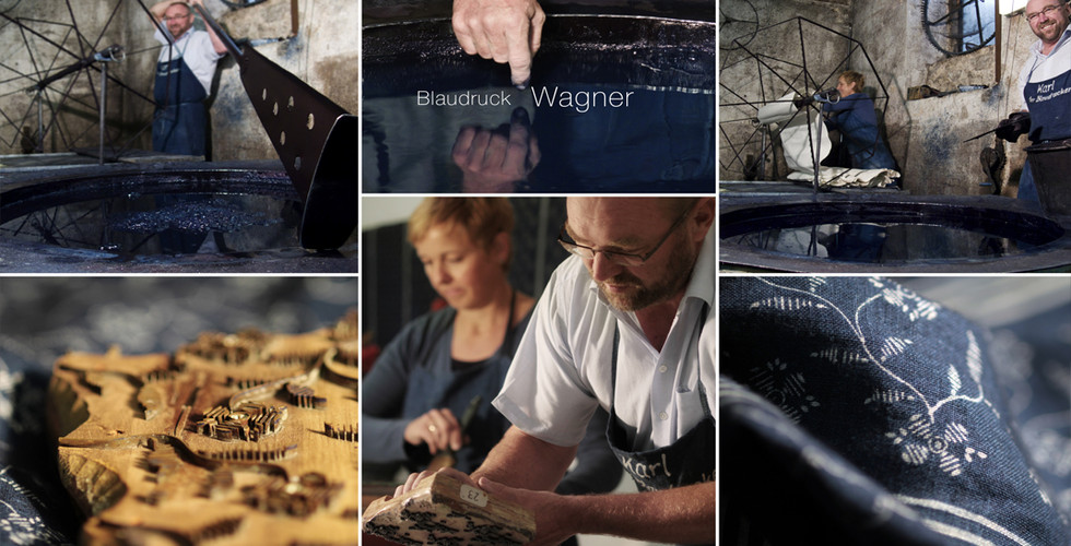 Blaudruck Wagner