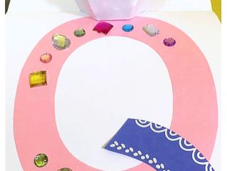 ABC craft - Letter Q