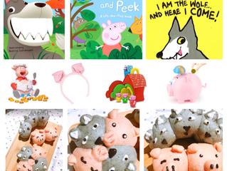 【おいしい繪本會】粉紅豬與大灰狼