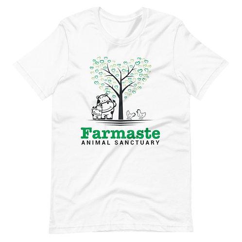 Short-Sleeve White Unisex T-Shirt