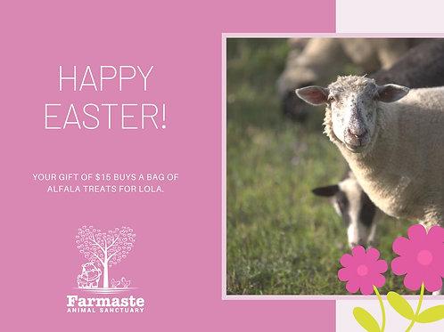 Happy Easter $15 Digital Card