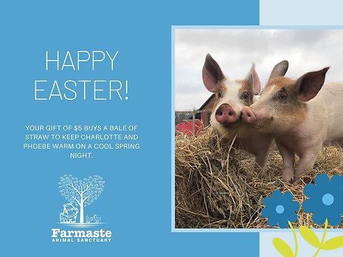 Happy Easter $5 Digital Card