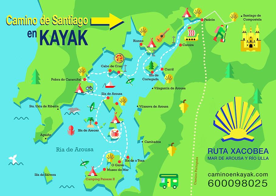 Camno de Sanyiago en Kayak