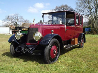 Armstrong Siddeley 1920s 30hp open drive