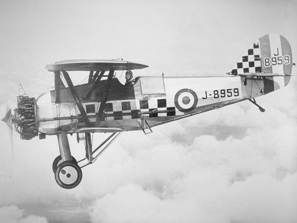 Armstrong Whitworth Aircraft Siskin