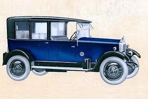 Armstrong Siddeley Grasmere Landaulette