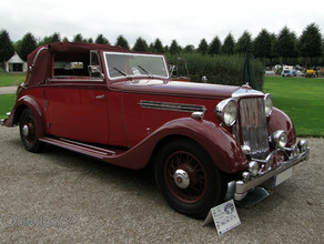 1936 25hp Tickford Bodied DHC.