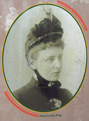 Edith Locke King old photo