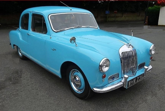 This is a 234 Sapphire, it has a 2.3 litre 4 cylinder version of the 346 Sapphire engine.