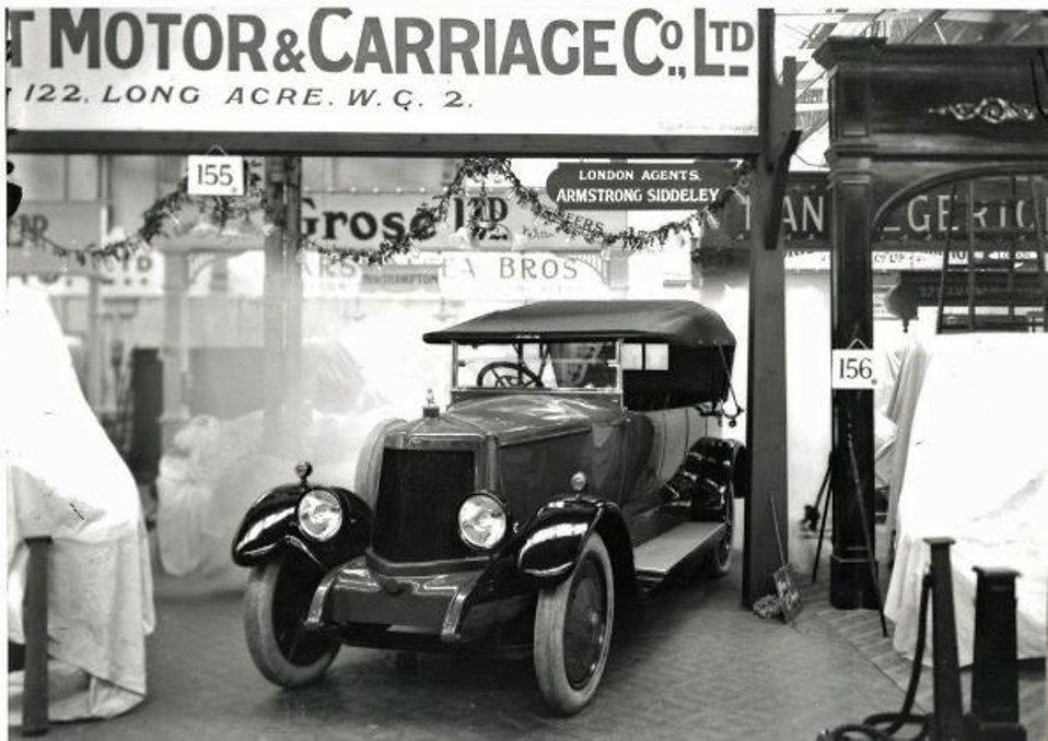 Armstrong Siddeley 1919 Olympia Motor sh