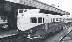 Rail Car built by Armstrong Siddeley