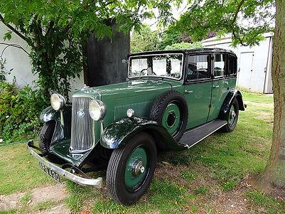 Armstrong Siddeley 1935 17hp saloon