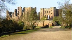 Kenilworth Castle home of the John Siddeley collection.