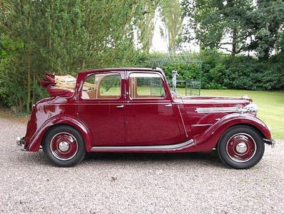 1939 16hp Tickford all weather convertible.