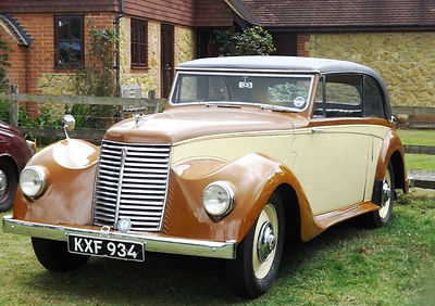 Armstrong Siddeley Typhoon Sports Saloon