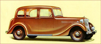 1938 12 plus, now known as the 14hp, with a more up to date saloon body.