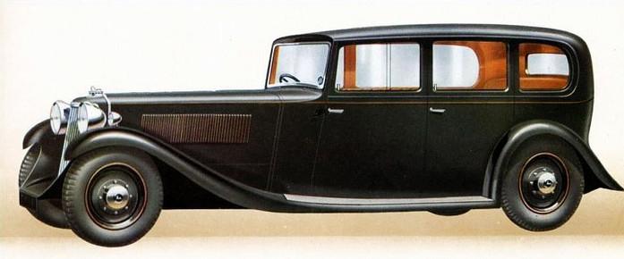 1935 Special Limousine.
