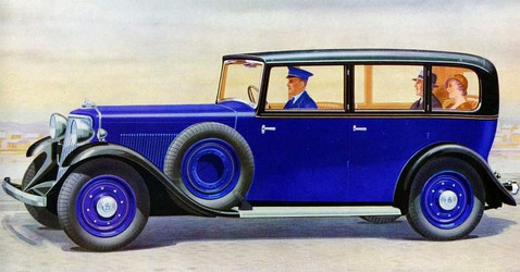 Early 1930's 20hp Limousine.