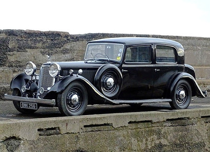 1935 Special Mk-II Touring Limousine .
