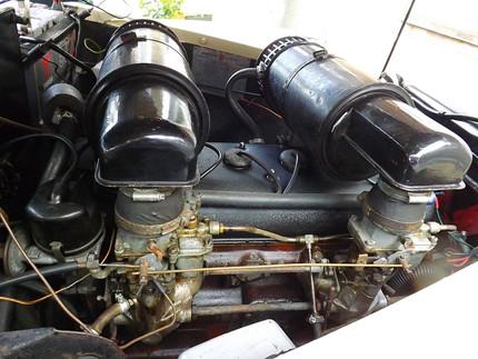 Star engine bay.