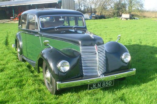 1947 16hp Lancaster.