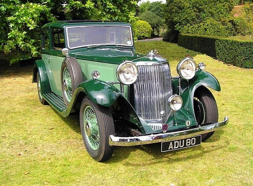 1934 Special Sports Saloon.