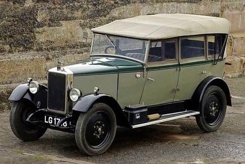 1929 12hp Tourer.