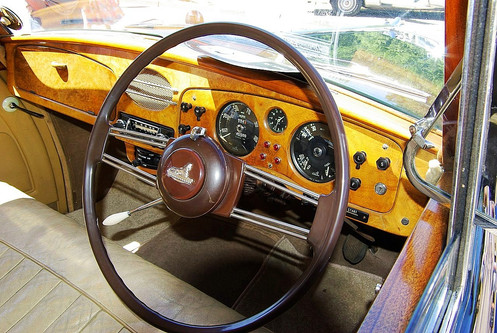 346 MkII dashboard.