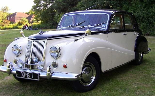 1960 Star Sapphire, the last of the line! This car left the factory in June 1960; prduction ended one month later.