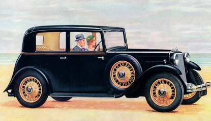 1934 15hp Sports Saloon on a short chassis.