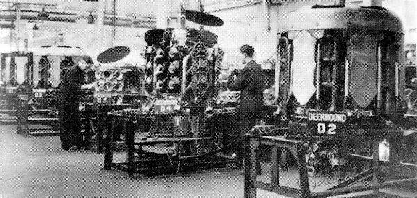 Armstrong Siddeley Deerhound constructio
